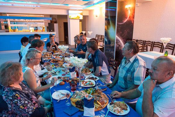 Abendessen beim Kulturbürgermeister von Varna
