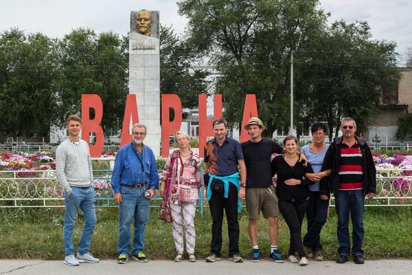 Ankunft in Varna