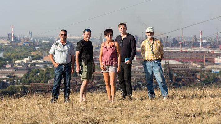 Gruppenbild in Magnitogorsk