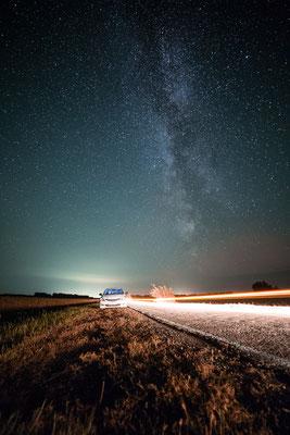 Milchstraße in der Steppe