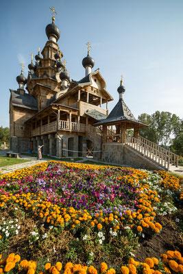 Holzkirche des Russischen Nordens I