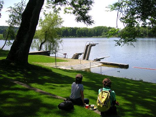 Wandern und Schwimmen im Wasseramt