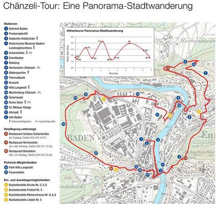 Städtewanderung Baden