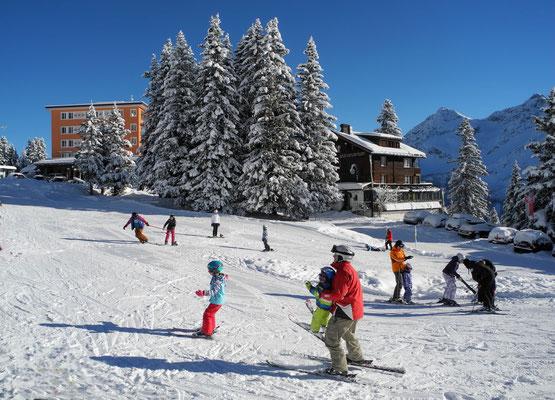 Gratis Kinderskischule Schweiz Arosa