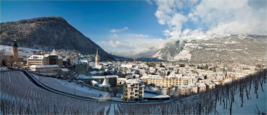 Aktuell: Ferien in der ältesten Stadt der Schweiz - ideal für Winterwandern und Schneeschuhtouren
