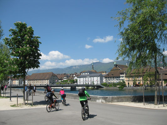 20 Velo- und ebiketouren ab der Region Solothurn Tourismus