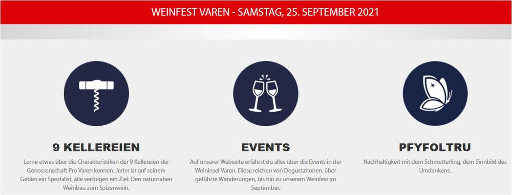 Winzerfeste Wallis 2021