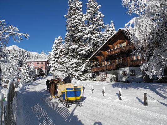 Skiurlaub und Reiten Arosa!