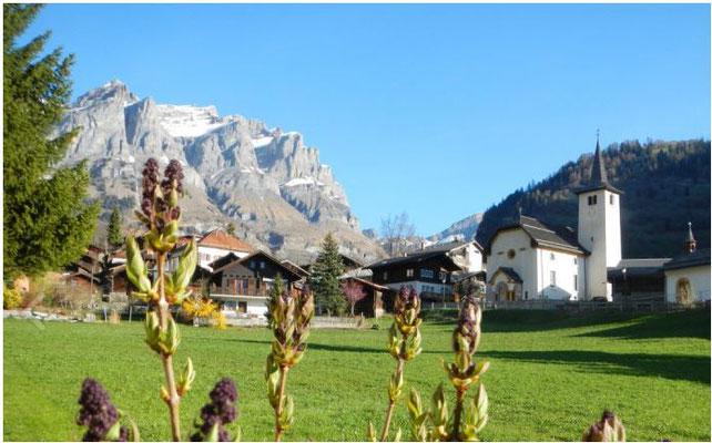 Foto Gemeinde Inden - preiswerte Ferienwohnungen und Chalets im Wallis