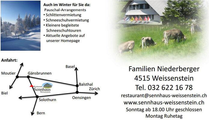 Sennhaus Weissenstein Fotos Weissenstein
