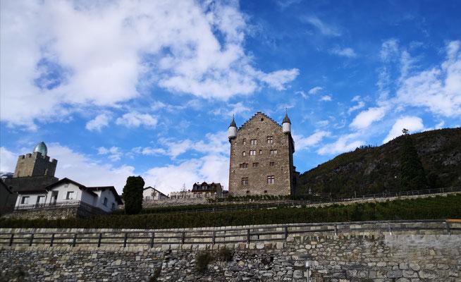Ferien im Wallis ab Varen im bnb mit Weindegustation von 9 Weinbauern