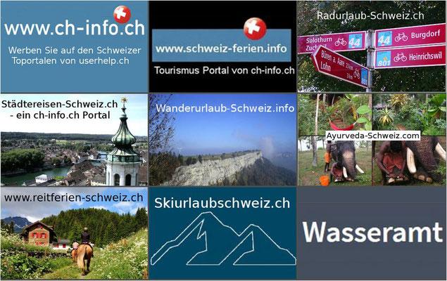 Wasseramt SO - Ferien ab Sportzentrum in die ganze Schweiz
