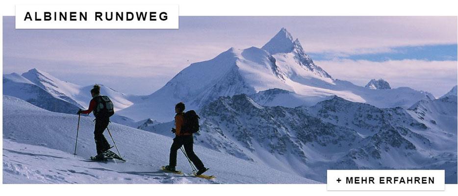 Schneeschuhtouren und Winterwandern Wallis