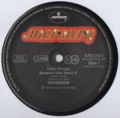 "12"" Maxi Mercury 870 275-1, Deutschland, 1987"