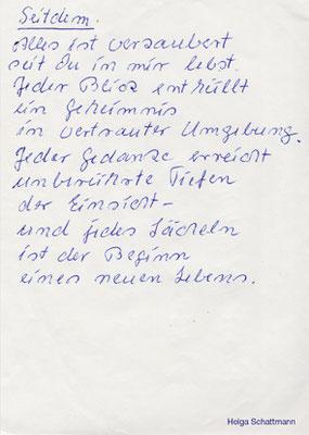 Bernhard B. (– Gedicht von Helga Schattmann)