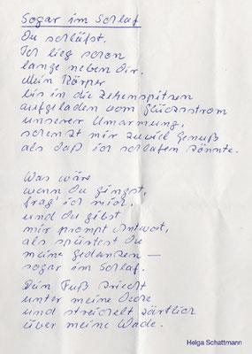 Bernhard B., Kevelaer (– Gedicht von Helga Schattmann)