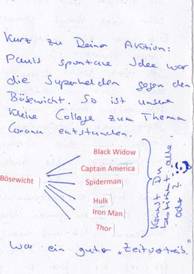 Erklärung zu Pauls Superheldenkarte