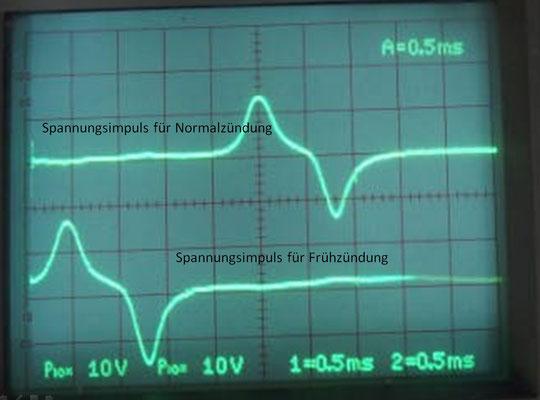 Oszillogramm Impulsgeber