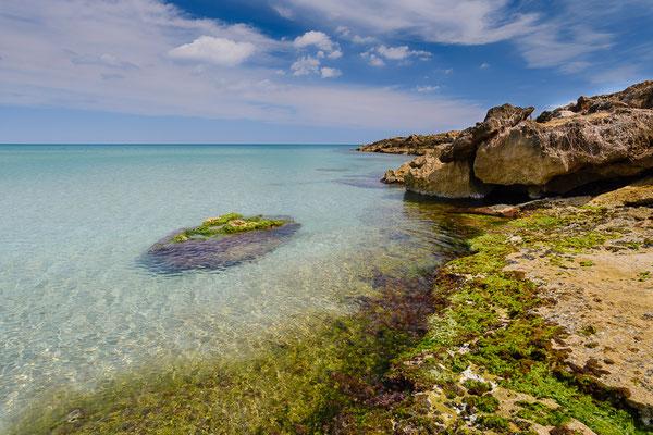 Küstenlandschaft im Naturpark Vendicari