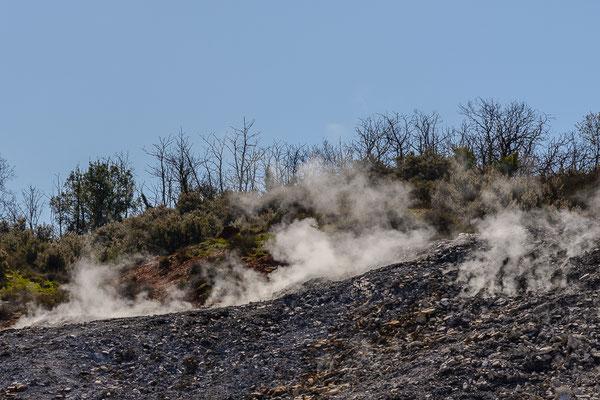 Fumarolenfeld bei Sasso Pisano