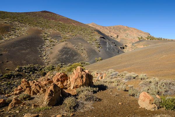Lavalandschaft im Parque nacional del Teide