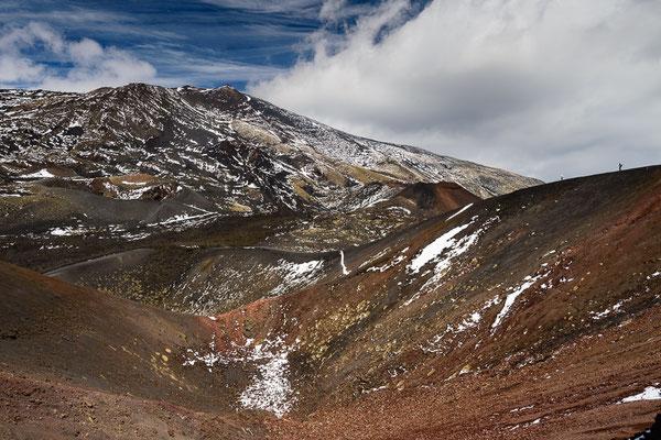 Kraterlandschaft am Ätna