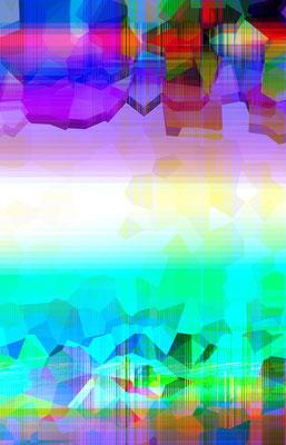 Luminogramme 4.3_2018_141x 219 cm_Alu Dibond mit glänzender Oberflächenkaschierung