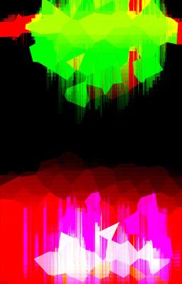 Luminogramme 4.1_2018_100x 156 cm_Alu Dibond mit glänzender Oberflächenkaschierung
