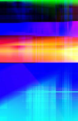 Luminogramme 1.3_2018_50x78 cm_Alu Dibond mit Plexiglas