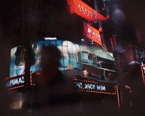 NY Lights 04_2010_130x93 cm_Alu Dibond mit glänzender Oberflächenkaschierung