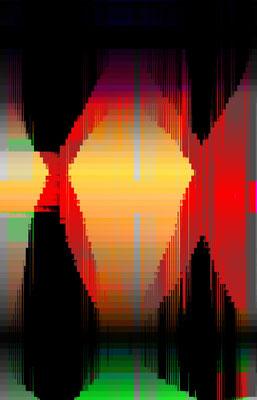 Luminogramme 3.1_2018_141x 219 cm_Alu Dibond mit glänzender Oberflächenkaschierung