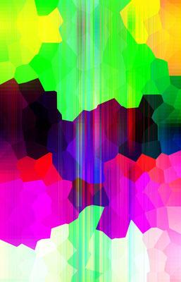 Luminogramme 4.2_2018_100x 156 cm_Alu Dibond mit glänzender Oberflächenkaschierung