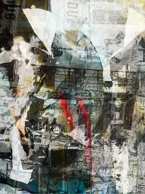 Canvas I 06_2014_100x175 cm_Alu Dibond mit glänzender Folienkaschierung