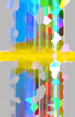 Luminogramme 4.5_2018_100x 156 cm_Alu Dibond mit glänzender Oberflächenkaschierung