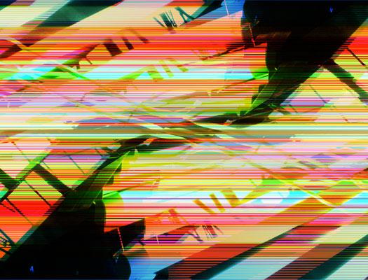 Sternschlag 01.1_2009_100x76 cm_Alu Dibond mit glänzender Oberflächenkaschierung