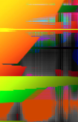 Luminogramme 2.4_2018_141x 219 cm_Stoffdruck
