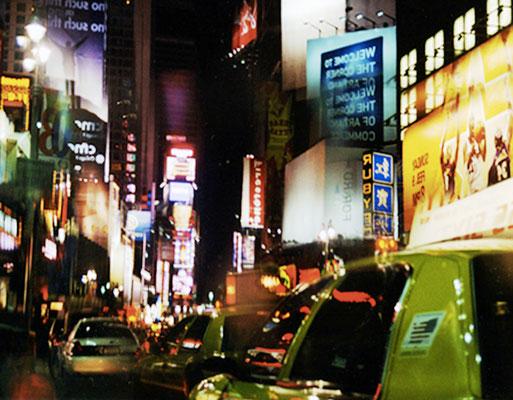 NY Lights 06_2010_130x93 cm_Alu Dibond mit glänzender Oberflächenkaschierung