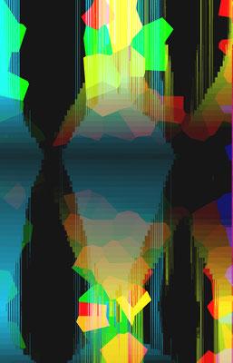 Luminogramme 4.8_2018_141x 219 cm_Alu Dibond mit glänzender Oberflächenkaschierung