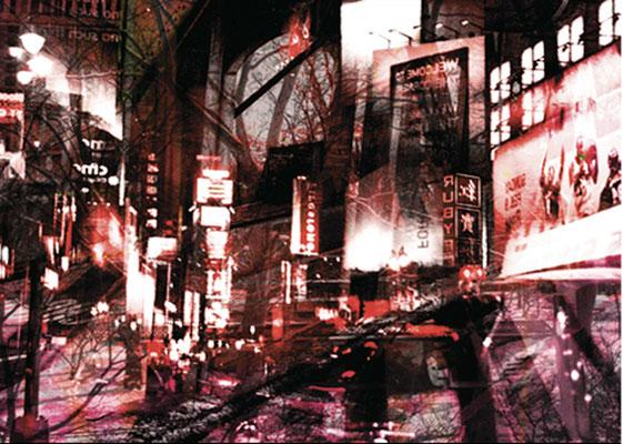 NY Lights 03_2010_130x93 cm_Alu Dibond mit glänzender Oberflächenkaschierung