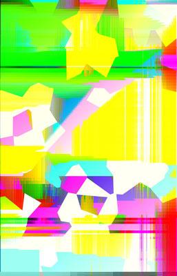 Luminogramme 4.4_2018_141x 219 cm_Alu Dibond mit glänzender Oberflächenkaschierung