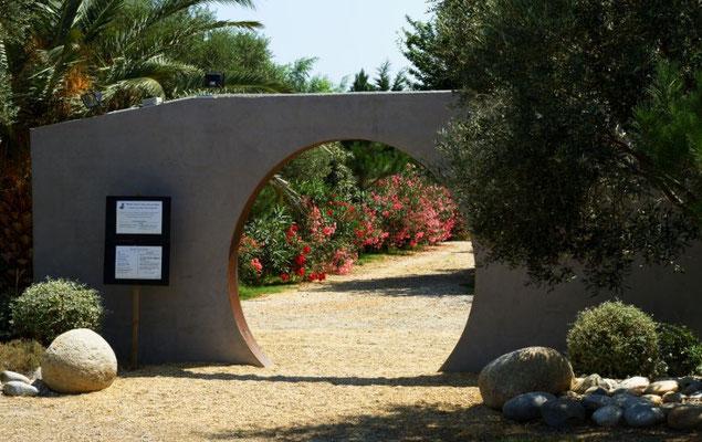 Le jardin d'ariane : Ste marie la mer à 35 mn.