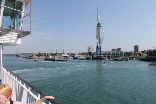 Fährfahrt SouthHampton nach Isle of Wight1