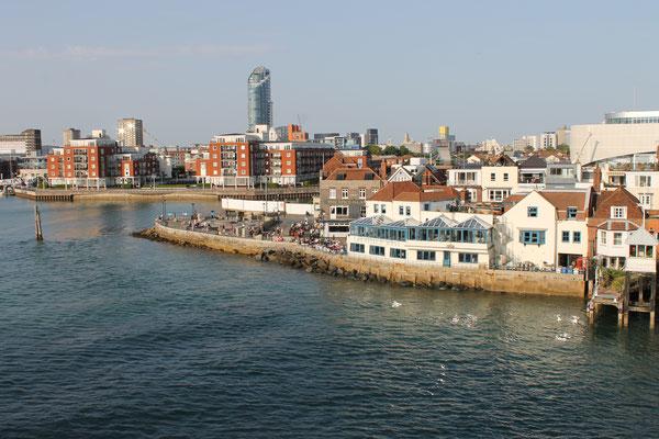 Fährfahrt SouthHampton nach Isle of Wight3