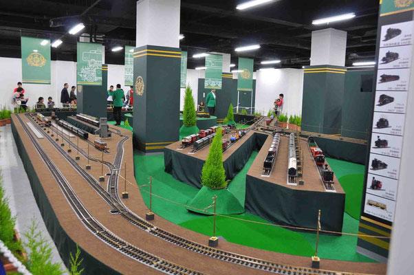 鉄道模型展も盛況でした。