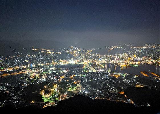 長崎 日本三大夜景 稲佐山