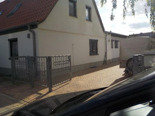 Eigenheim mit Außenputz