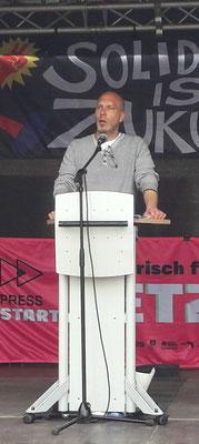 Schaeffler-Betriebsratsvorsitzender Jürgen Schenk