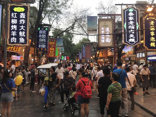 Marktbesuch in Xi'an