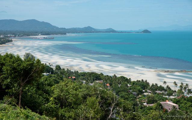Der nördliche Teil von Koh Samui