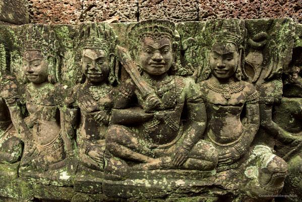 Wandbilder Angkor Thom